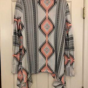 Sweaters - Cardigan. Sweatshirt material. Size M.